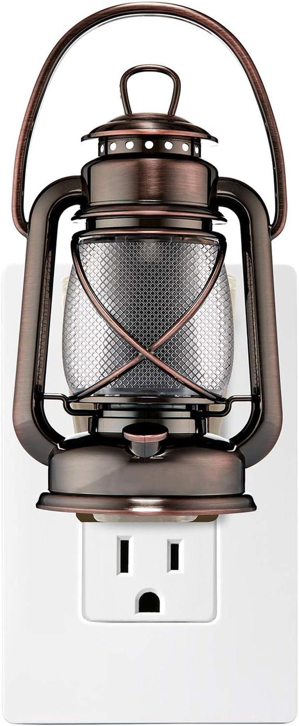 Bath and Body Works Camping Lantern Nightlight Wallflowers Fragrance Plug.
