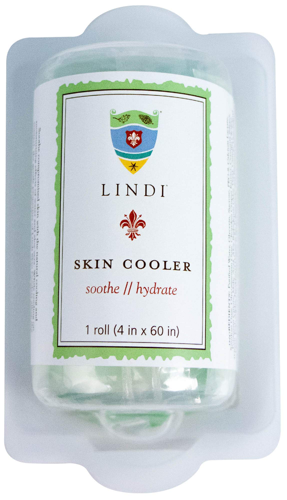 Lindi Skin Cooler Roll, 1 piece 4 inches wide and 60 inches long