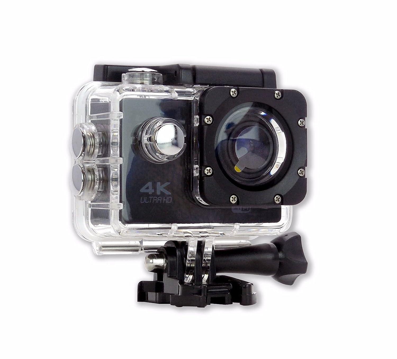 Amazon.com : Camara Deportiva S6 4K NEGRA 30cps WIFI Alta Definicion Videocamara Resistente al Agua 16MP, 170 grados : Camera & Photo