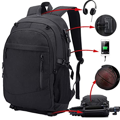 dbb0f1be654c Amazon.com  Travel Backpack for Men