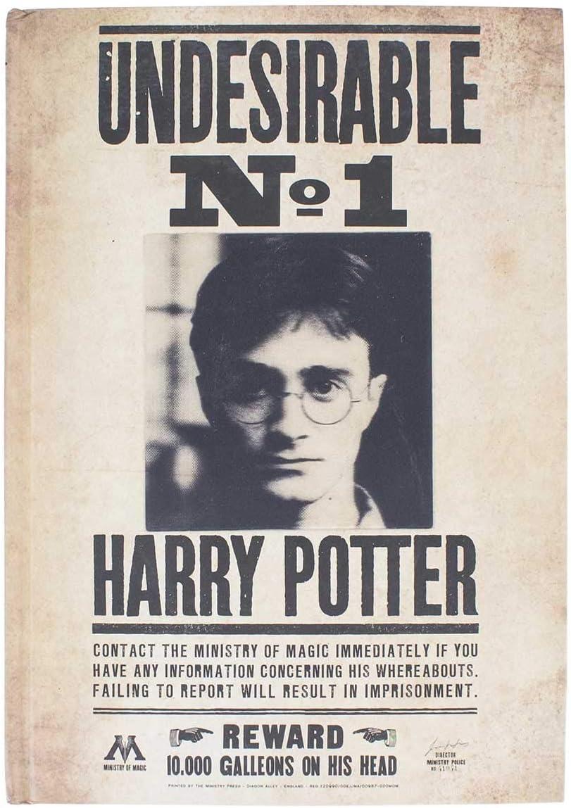 Harry Potter 3d Notizblock A5 Liniert Deckblatt 3d Mit Harry Potter Steckbrief Amazon De Spielzeug