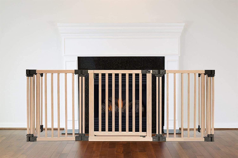 Safetots Wooden Multi Panel Fire Surround 49D x 160D cm