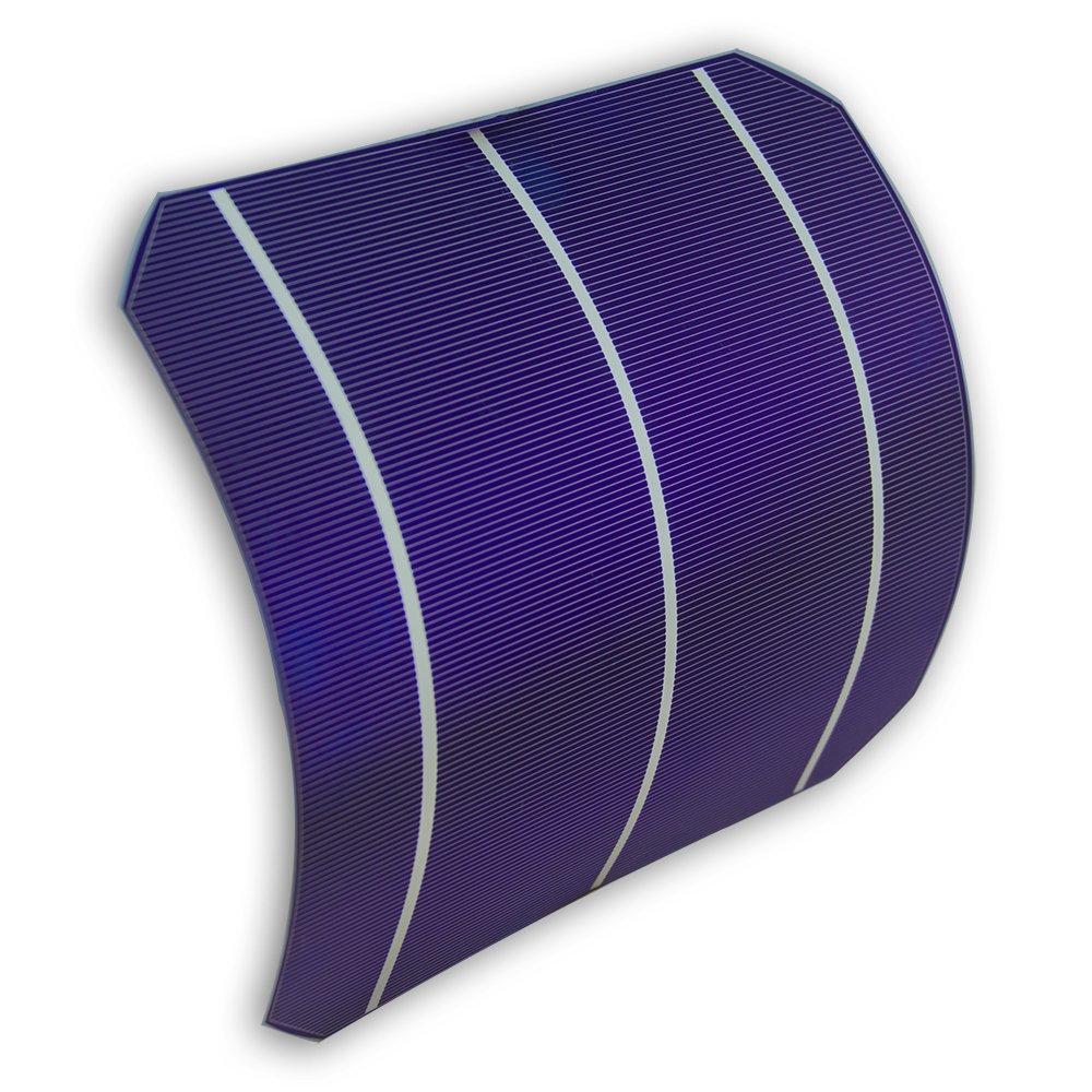 VIKOCELL 156 Monocrystalline Solar Cell 6*6 For DIY Solar Panel (Pack of 40)