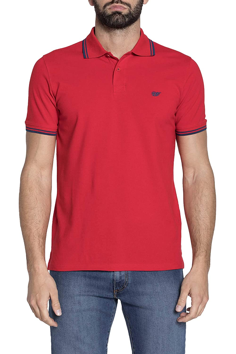Carrera Jeans - Camiseta Tipo Polo para Hombre, Color Liso ES 3XL ...