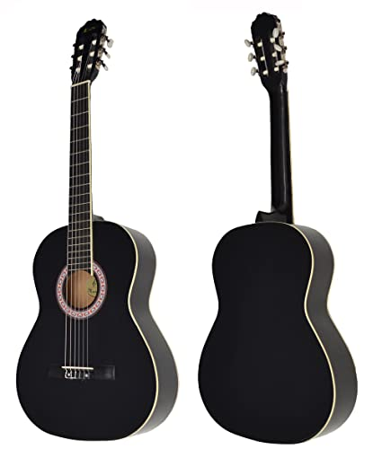 Ts-ideen - Guitarra clásica española (4/4, con mástil de madera