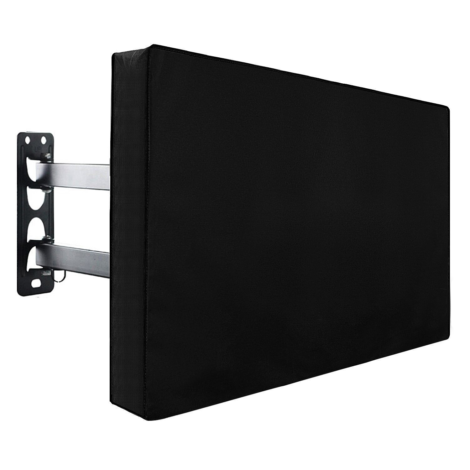 MeOkey Outdoor Waterproof TV Cover Universal Television Screen Protecttor, 50''-52''