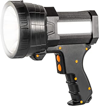 Ikaama 6000 High Lumens Rechargeable Super Bright Spotlight