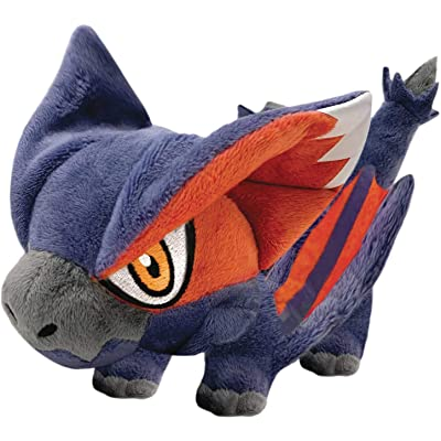Capcom Monster Hunter: Swift Wyvern Nargacuga Chibi Plush Toy: Toys & Games