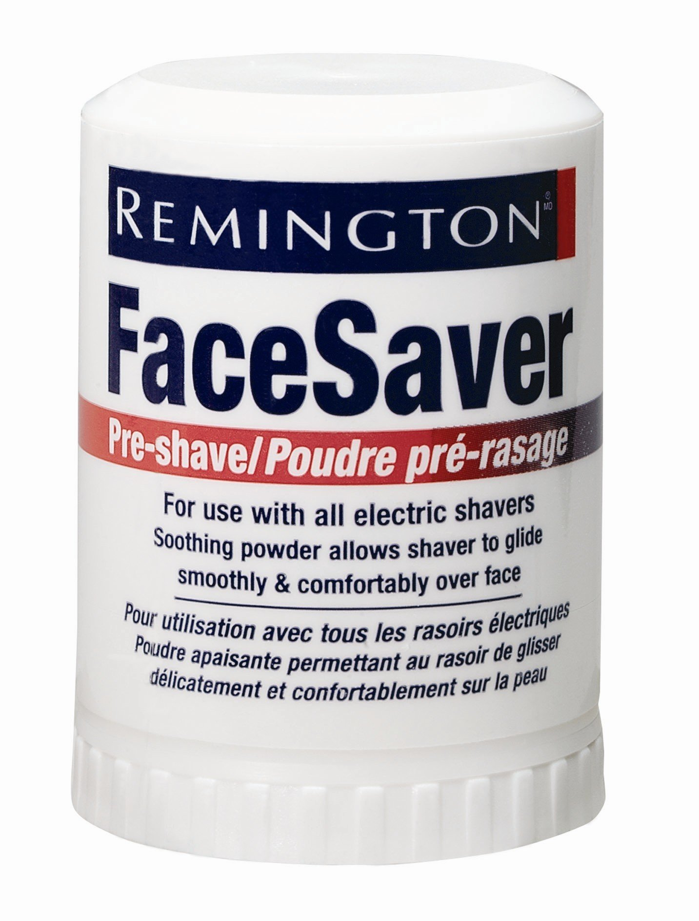Remington SP-5 Pre-Shave Talc Stick Face Saver For all Mens Shavers, Net Weight. 2.1 Ounce/ 60 g (Pack of 6) (Renewed) by Remington