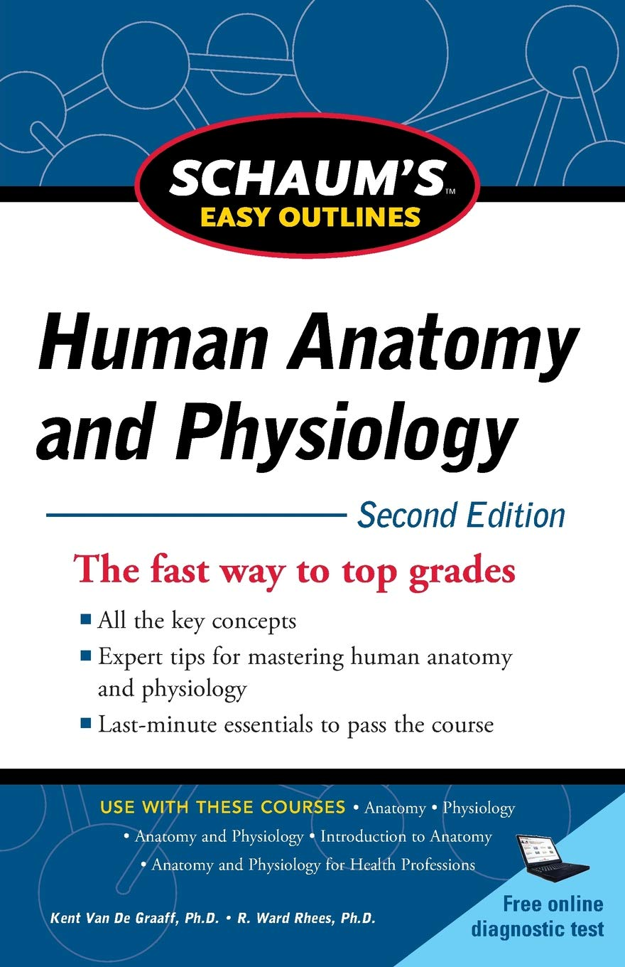 Buy Schaums Easy Outline Of Human Anatomy And Physiology Second