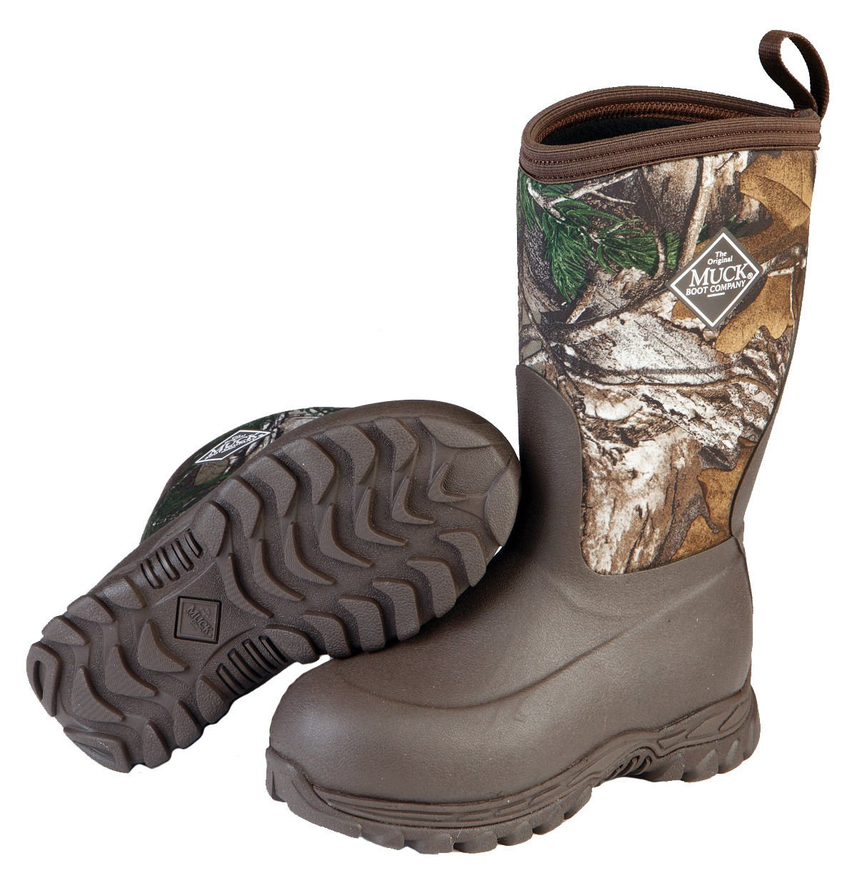 Muck Boot Kids' Rugged II Winter Boots, Brown/Realtree Xtra, 8 Toddler by Muck Boot