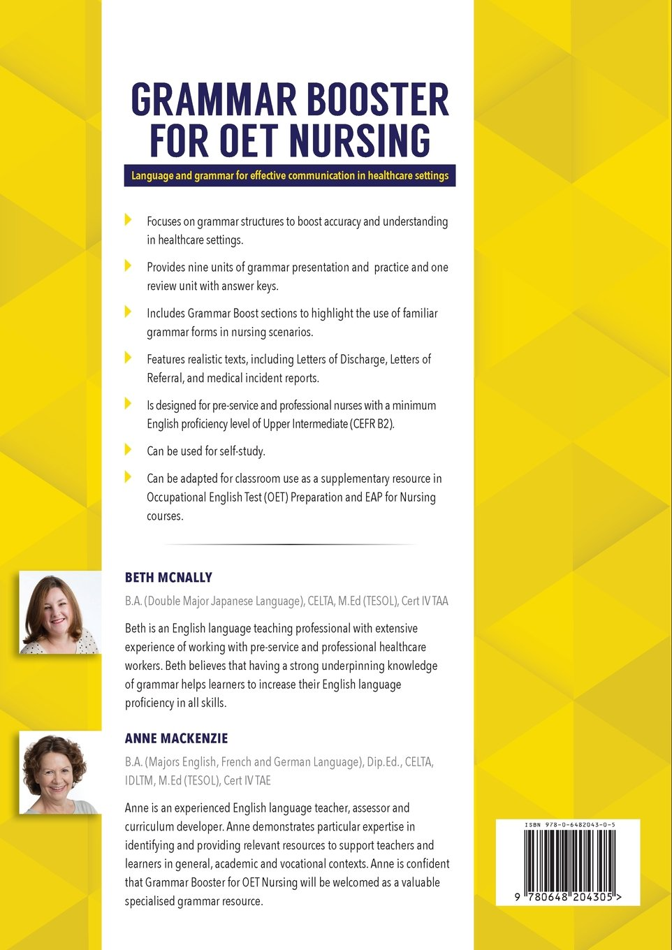 Grammar Booster for OET Nursing: Language and grammar for effective communication in healthcare settings by ELTWorks