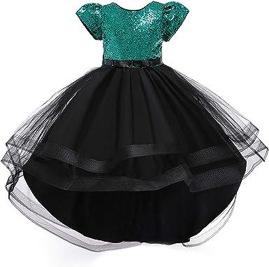 Toddler Kid Baby Girls Halloween Outfit Long Sleeve Pumpkin Dress Sundress Princess Dress Headband Clothes Set