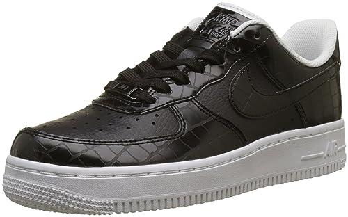 Nike Wmns Air Force 1 '07 ESS, Zapatillas para Mujer, Negro
