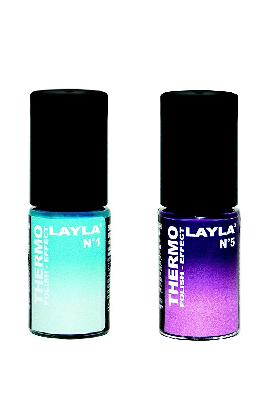 LAYLA Vernis à ongles thermique Duo Pack n ° 2 RNBCOSMETICS