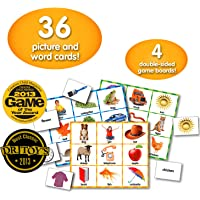 The Learning Journey Match It! Picture Word Bingo