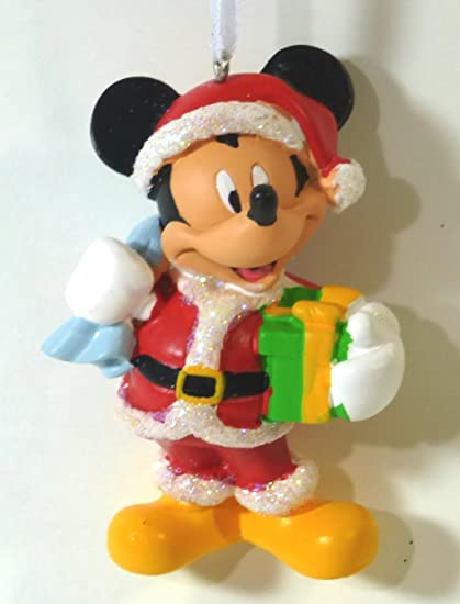 disney mickey mouse christmas tree ornament in gift box - Mickey Mouse Christmas Tree Ornaments