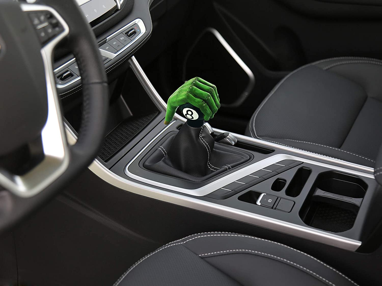 Abfer Gear Shifter Car Handle Stick Shift Knob Unique Shape Fit MT Automatic Vehicle Trucks Green