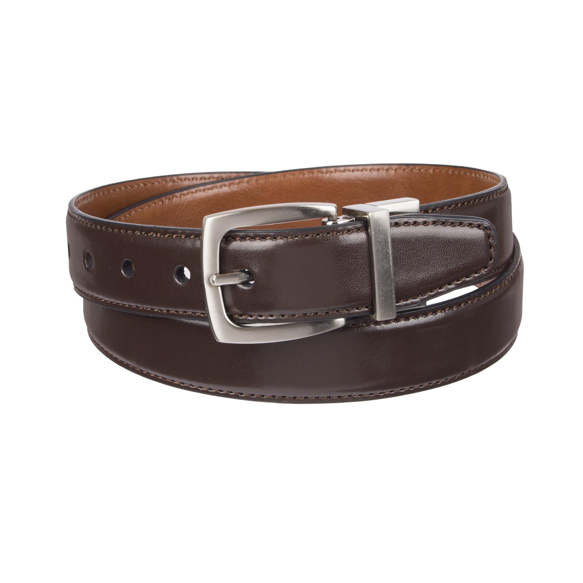 Dockers Big Boy's Dockers Reversible Black-to-Brown Belt, brown/tan, Large (30-32 Inches)