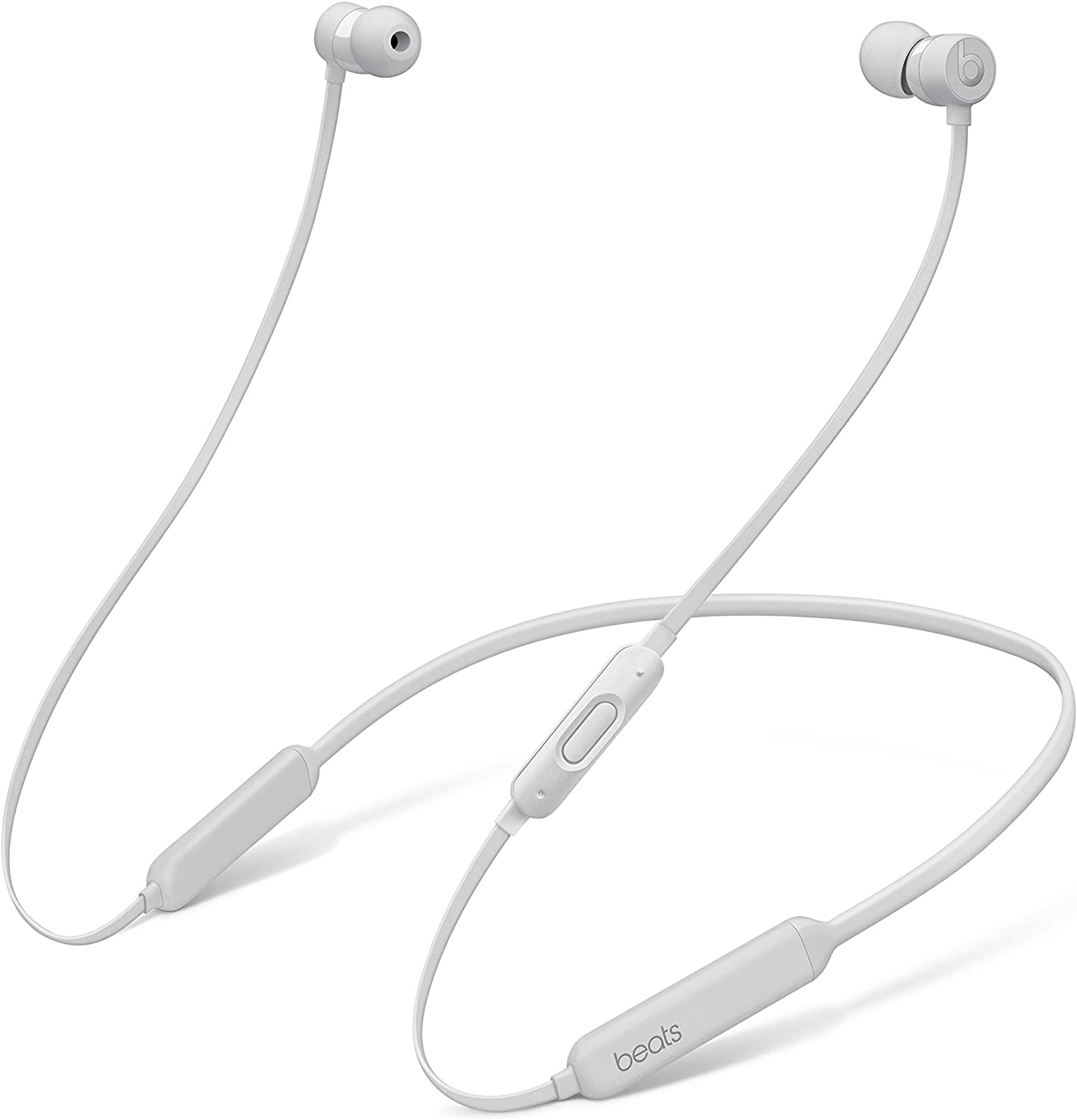 BeatsX Wireless Earphones - Apple W1 Headphone Chip, Class 1 Bluetooth, 8 Hours Of Listening Time - Satin Silver