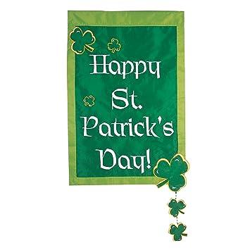 Amazoncom Evergreen 16090 Happy St Patricks Day Garden Flag