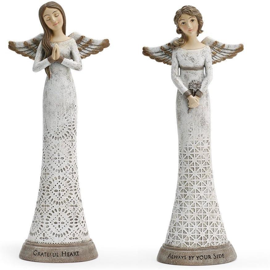 DEMDACO Loved and Cherished Angel Figure