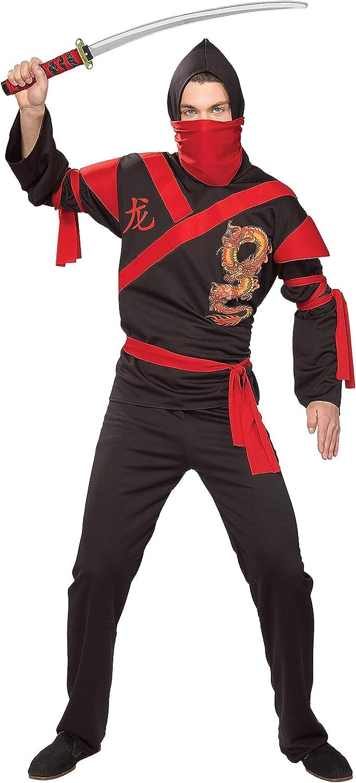 Rubies Costume Co. Mens Dragon Ninja Warrior Costume