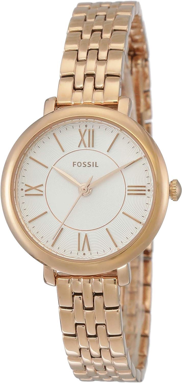 Fossil Women's Jacqueline Mini Stainless Steel Dress Quartz Watch