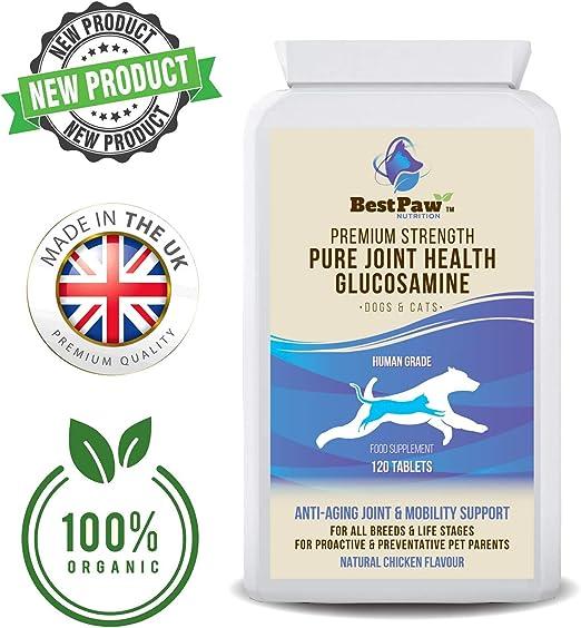 Glucosamina para perros y gatos 120 comprimidos - Vitaminas para ...