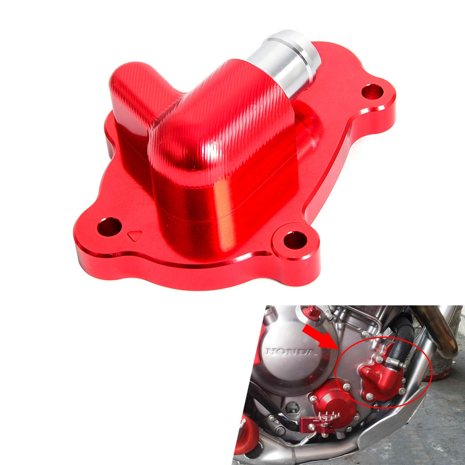Water Pump Protector Cover Protector For Supermoto Dirt Bike