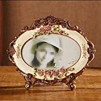 GYN Photo Frame Set Up 7 Inch Creative Pastoral Rose European Frame Picture Frame Decoration