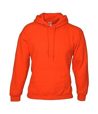 8d325ea2df64 Anti Social Social Club Hoodie Orange Printed on Gildan Hoodie Exactly The  Same  Amazon.co.uk  Clothing