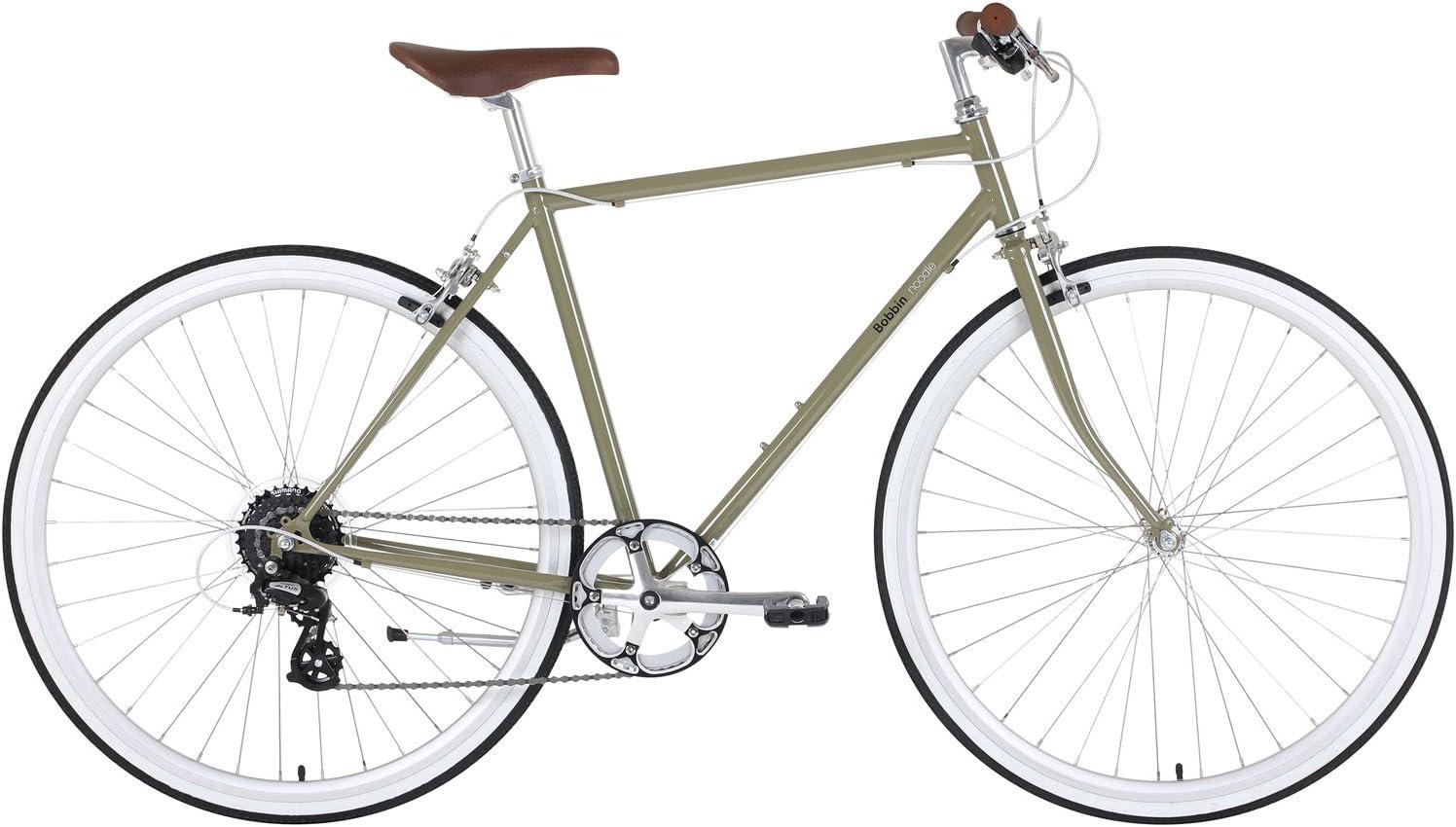 BOBBIN Noodle Bicicleta Urbana, Hombre, Verde (Rifle Green), 60 ...