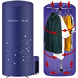 Clothes Dryer Portable Travel Mini 900W dryer machine,Portable dryer for apartments,New Generation Electric Clothes Drying