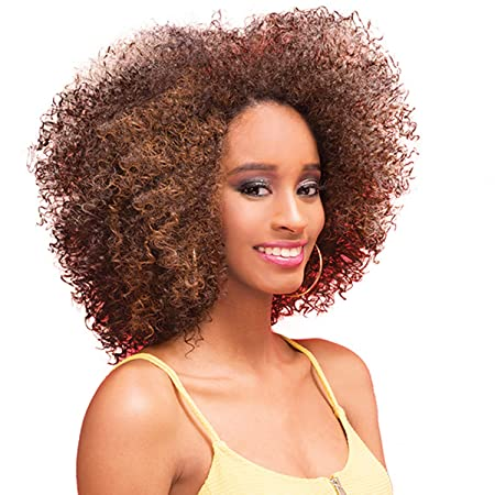 Janet Collection Retro Glam & Vibe Clip In U Type Wig   4 A Agnes (1 B Off Black) by Janet Collection