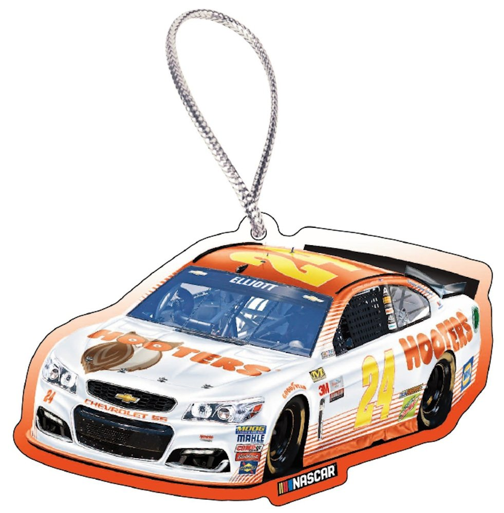 Chase Elliott Hooters 9 Square Inch NASCAR Christmas Ornament - Only ...