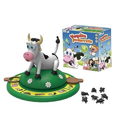 Kidz Delight - Juego de Mesa Vaquita Pedorreta (Cefa Toys 00474): Juguetes y juegos