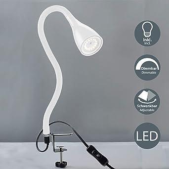 400 pinzapara con regulable Flexo W230 lúmenesíndice con iluminación escritorioluz protección lectura BKLicht V y LED de niveles5 de de 3 QBshxdtrC