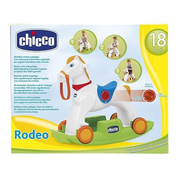 Chicco - Rodeo, Caballo balancín (00070603000000): Amazon.es: Bebé