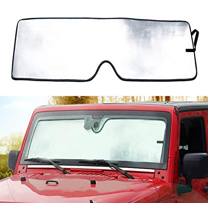 Amazon.com  Bolaxin Latest Upgrade Front Windshield Sunshade Sun ... 240f566a207