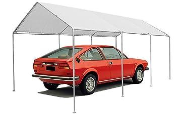 Megashopitalia Gazebo 3x6 Mt Per Copertura Auto Garage Box