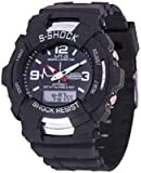 BLUTECH Analogue-Digital Black Dial Boys and Kids Watch