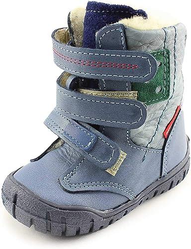 Bartek orhopedics black winter leather ancle support big kid boots wool insole