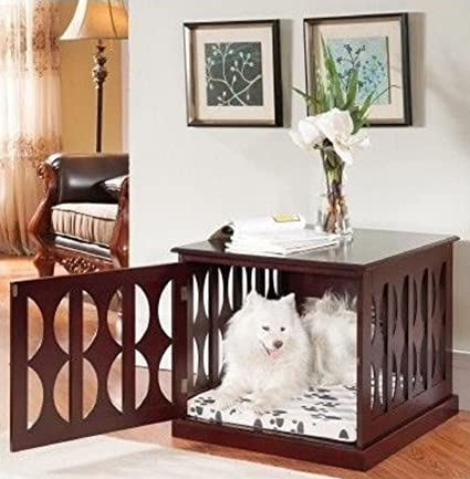 Amazon Com Hot Sale Wooden Dog Kennel Crate End Table Side