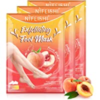Foot Peel Mask 3 Pack, Exfoliating Callus Remover & Dead Dry Skin, Get Baby Soft Feet in 1-2 Weeks for Men and Women…