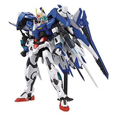 "Bandai Hobby MG 1/100 00 XN Raiser Gundam 00"": Toys & Games"