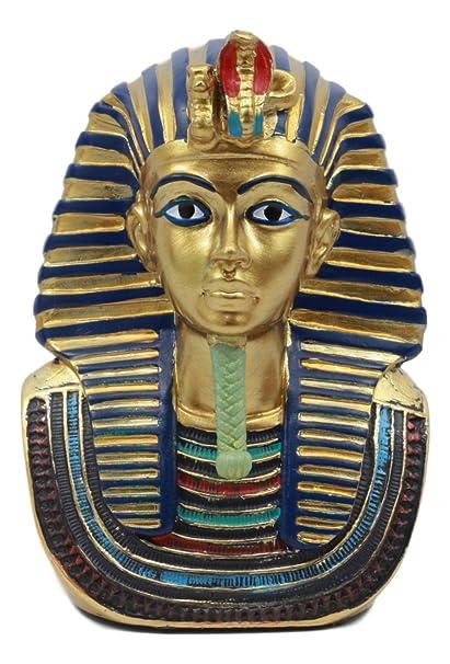 """Máscara de Rey Tut Faraón Busto pequeño – Figura decorativa (4,25 """""""