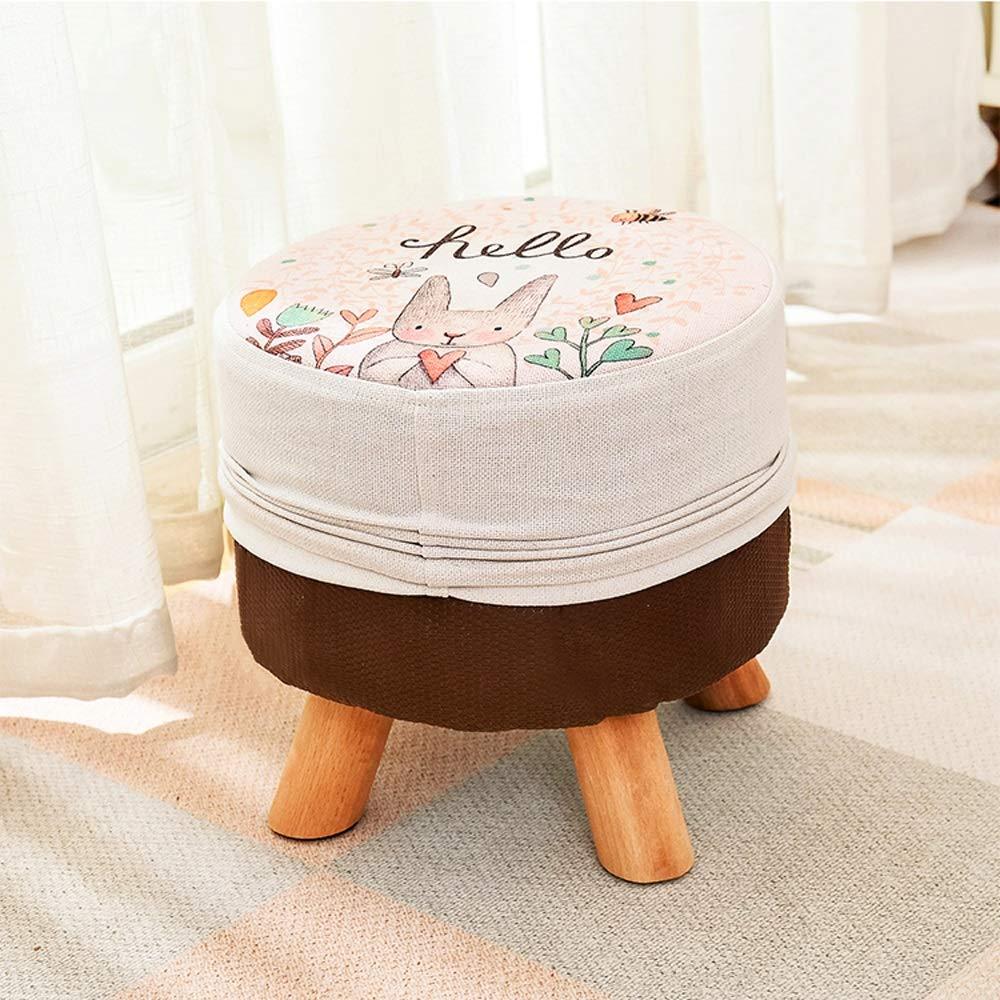 Amazon.com: Paddia Stool Home Solid Wood Stool Coffee Table ...