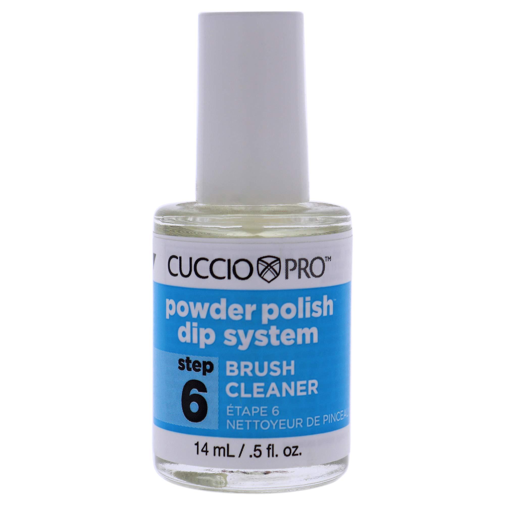 Cuccio Naturale Cuccio Pro Powder Polish Dip System Brush Cleaner - Step 6, 0.5 Oz (I0098681)