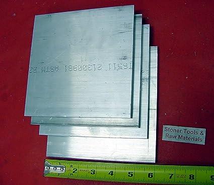 1//4 X 4 ALUMINUM 6061 FLAT BAR 6 long T6511 SOLID Plate Mill Stock
